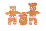 Puss in Boots gingerbread cookie poster