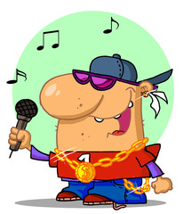 Rapper Dude Singing