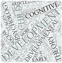 Developmental psychology Disciplines Concept