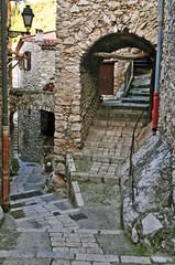 Il villaggio di Peillon, Costa Azzurra