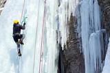 Fototapeta alpejskie - Alpy - Wspinaczka