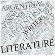 Argentine literature Disciplines Concept