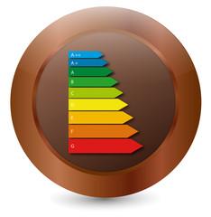 Vektor Energieeffizienz Icon