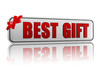 best gift banner with ribbon