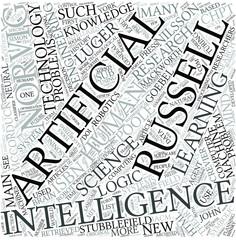 Artificial intelligence Disciplines Concept