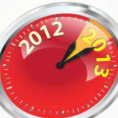 2012 2013 Clock