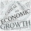 Economic growth Disciplines Concept
