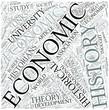 Economic history Disciplines Concept