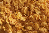 cornflakes background for healthy breakfast