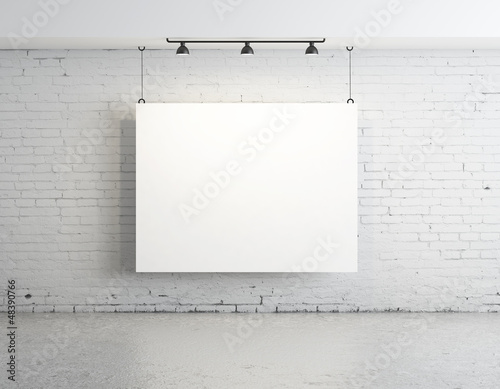 poster on wall