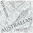 Australian literature Disciplines Concept