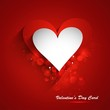 Beautiful Valentine's Day card celebration red colorful backgrou