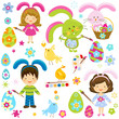 easter children
