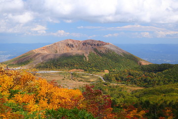 Mt. Azumakofuji in autumn, Fukushima, Japan