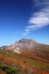 Mt. Nasudake in autumn, Tochigi, Japan