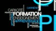 Formation enseignement apprentissage nuage de mots video