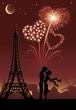 Fireworks and Paris.