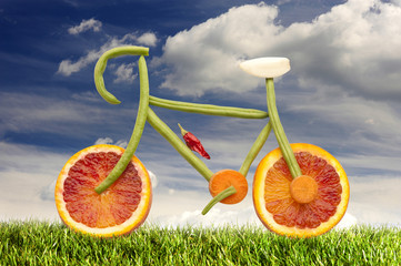 Vegetarian bicycle