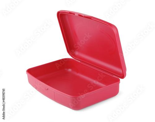 Foto op Canvas Picknick Red box