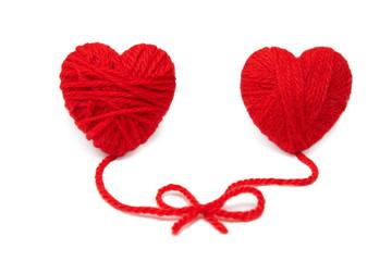 Wool hearts-17