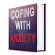 Anxiety advice concept.