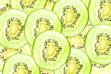 Kiwi healthy fruit texture background.