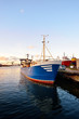 fishing boat fleet at the port of Ventspils