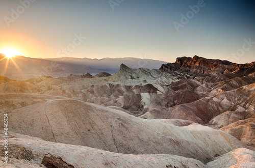 Zabriskie Point, Death Valley © Pixelshop