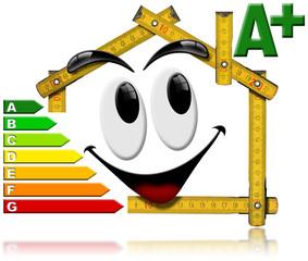 Energy Saving - House Smiling Meter Tool