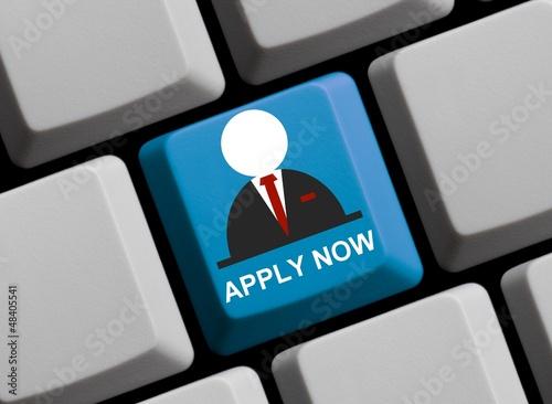 Apply now! Jetzt bewerben