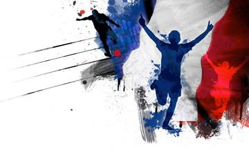 Drapeau France Football