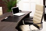 Fototapety laptop on a desk