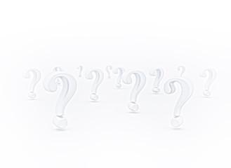 Question Marks - 3D Symbols