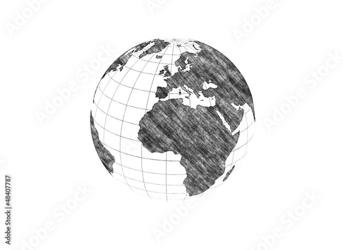 pencil drawn planets - photo #35