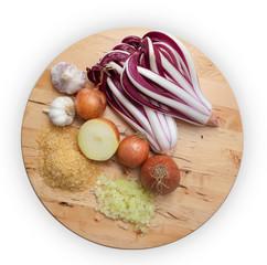 Ingredienti Risotto con Radicchio tardivo