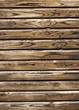 Old wooden painted planks