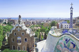 The famous Park Guell, Barcelona, Spain