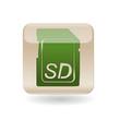 Icon SD card