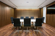 Business meeting room in modern office