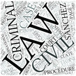Civil procedure Disciplines Concept
