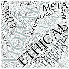 Meta-ethics Disciplines Concept