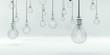 Glühbirnen, Idee, Stromsparen