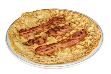 Pancake with Bacon.