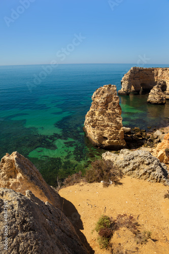 Marinha beach at Lagoa, Algarve, Portugal