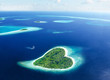 Leinwanddruck Bild - Fuga sull'isola dell'Amore