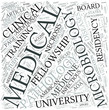 Clinical microbiology Disciplines Concept