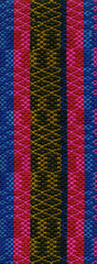 Traditional weaving pattern