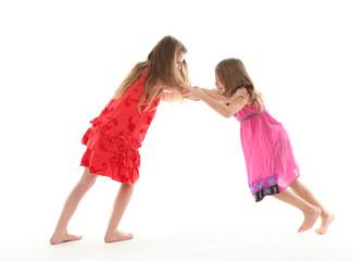 Streit zwischen Schwestern
