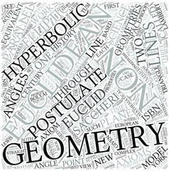 Non-Euclidean geometry Disciplines Concept