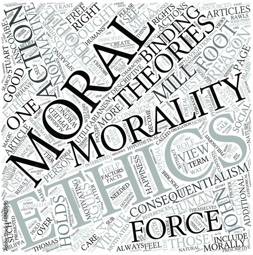 Normative ethics Disciplines Concept